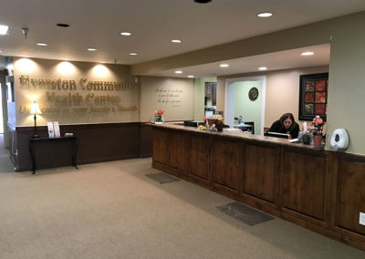 Evanton Community Health Center Reception